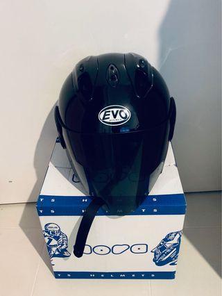 Evo Black Helmet