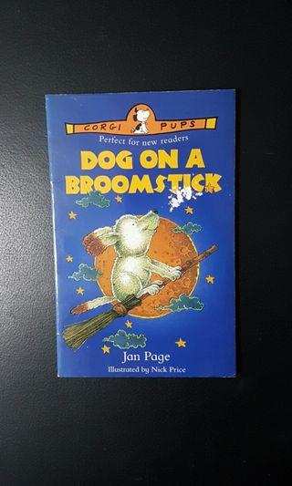 Preloved Storybook: Dog on a Broomstick