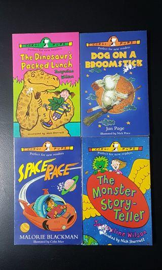 Preloved Storybooks: Set of 4 Corgi Pups Storybooks