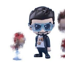 [絕]marvel tony ironman in cat tee and glasses