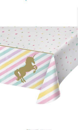 Unicorn Sparkle TC Parent Unicorn Sparkle table cloth