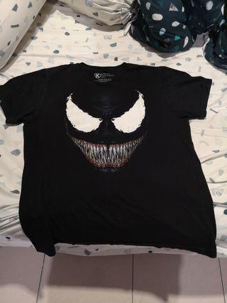 Venom T shirt glow in the dark