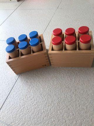 🚚 Montessori sound box work