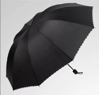 雙人打疊短雨傘,