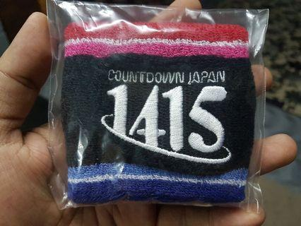 Coundtdown Japan 2014 2015 Wristband