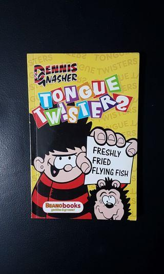 Preloved Storybook: Dennis Gnasher Tongue Twisters