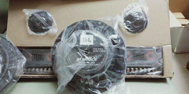 JBL分離式高音,中低6.5寸,分音器線組汽車喇叭只有—組3900元