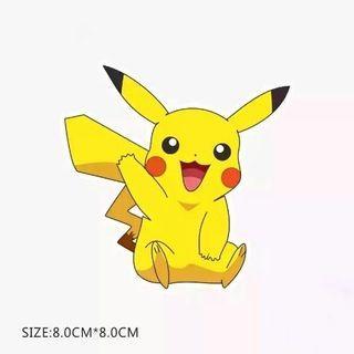 Pokemon Pikachu Sticker Luggage Macbook Laptop Stickers