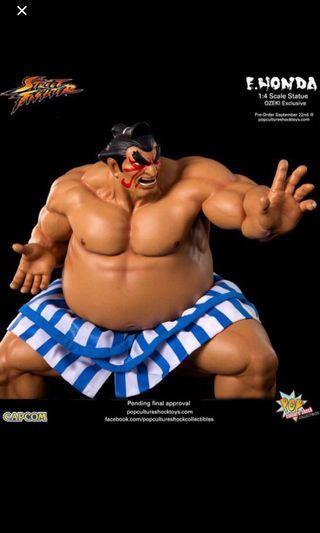 Pop Culture Shock PCS Street Fighter E.Honda statue