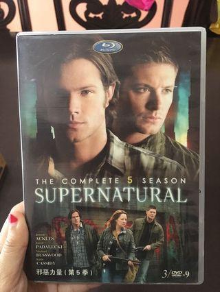 Supernatural Season 5 Complete DVD