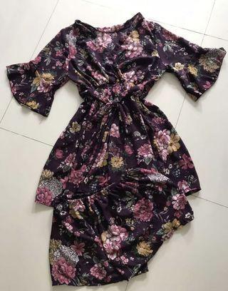 Rare purple kimono set