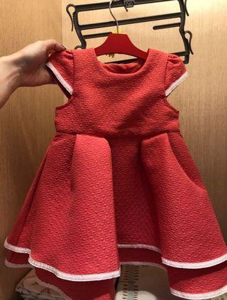 Red dress mothercare
