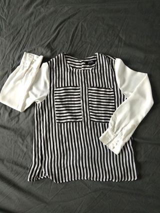 Stripes Top / Blouse