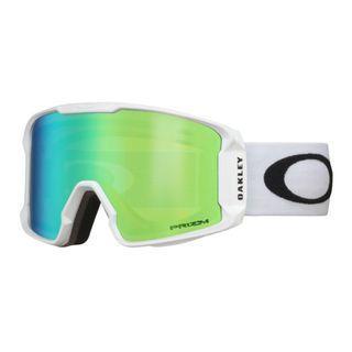 Oakley Line Miner Ski Google - White Green