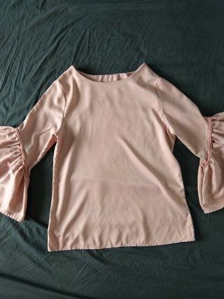 Peach Saloma Blouse