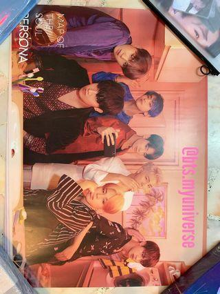 [WTS/LFB] BTS MAP OF THE SOUL : PERSONA OFFICIAL ROLLED POSTERS