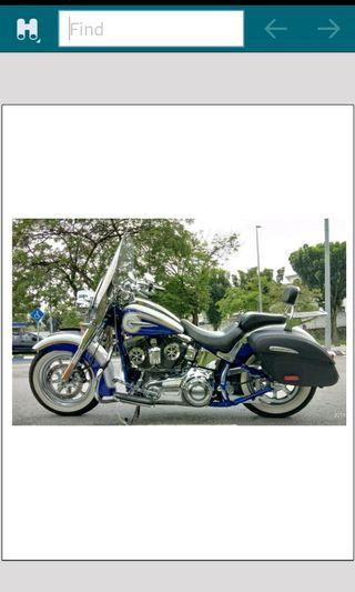 Harley davidson cvo soft tail deluxe (2013) limited unreg
