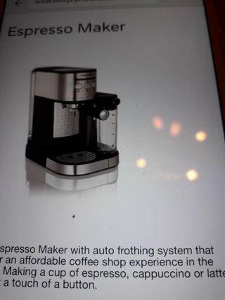 Morphy Richards coffee maker 172251
