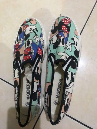 Slip On Mickey Mouse