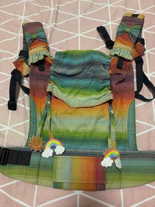 GUC Tula Girasol boy or girl half wrap conversion baby carrier ( toddler)