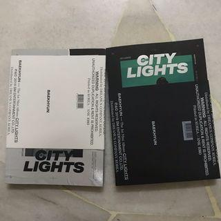 EXO BAEKHYUN CITY LIGHTS ALBUM
