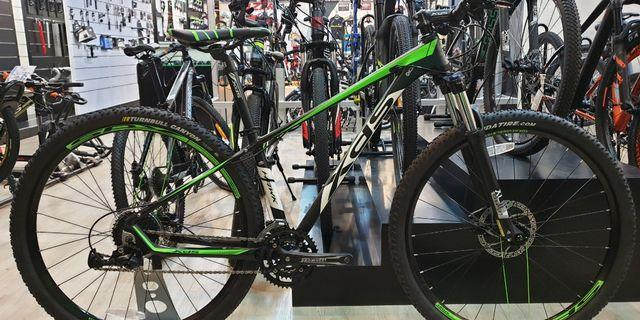 XDS Shimano Mountain Bike 27.5 (black/green)