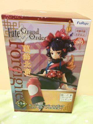 Authentic FuRyu Fate Grand Order Foreigner Hokusai Noodle Stopper Figure