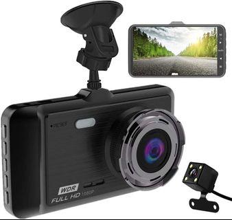 WDR FRONT N REAR Car cam Full HD 1080P ,3.0″ LCD Screen