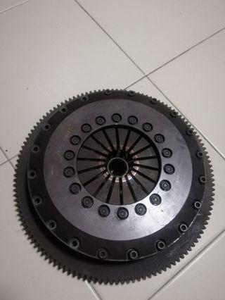 Carbonetic Twin plate clutch for subaru