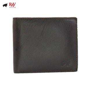 Rav Design Men's 100% Genuine Leather Short Wallet Vintage Design