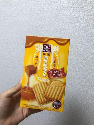 🚚 日本限定森永牛奶糖的餅乾🇯🇵