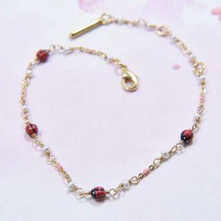 LesNéréides ladybird bracelet