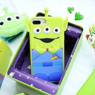 《預購》蘋果手機-迪士尼玩具總動員愛Toystory三眼怪可愛卡通手機殼