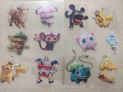 Pikachu 貼紙2張 (包郵)