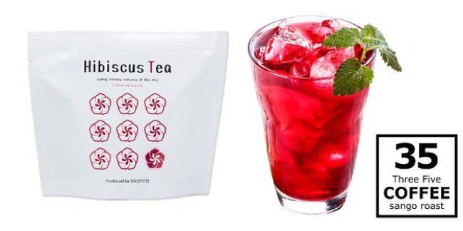 日本沖繩帶回:35 COFFEE  Hibiscus Tea 天然扶桑花茶 (6月下旬帶回)