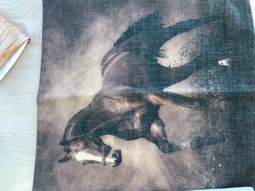 40x40 horse cushion covers