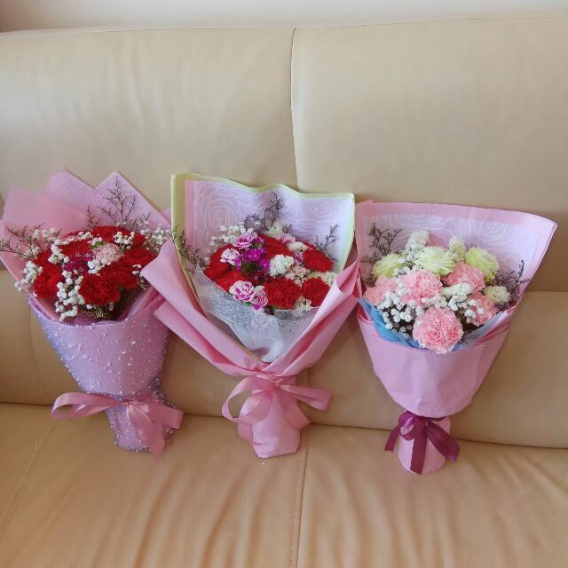 💐🎂鮮花花束   康乃馨花束    Fresh flower bouquet