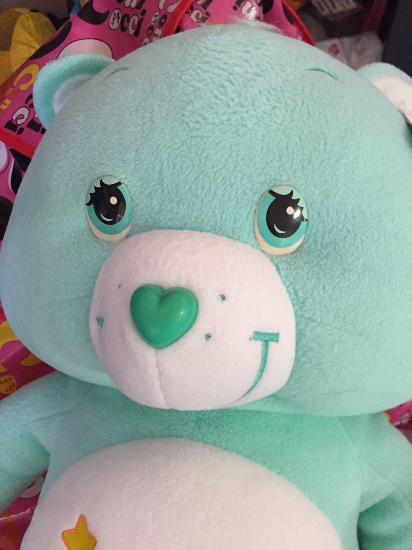 超級大隻 Sample sale : Care Bears  +75 cm大公仔 出口日本 愛心熊 Line Brown 熊 7-11 鬆弛熊 Duffy Bear 多買優惠 愛心熊 禮物 (市面無賣)sample公仔
