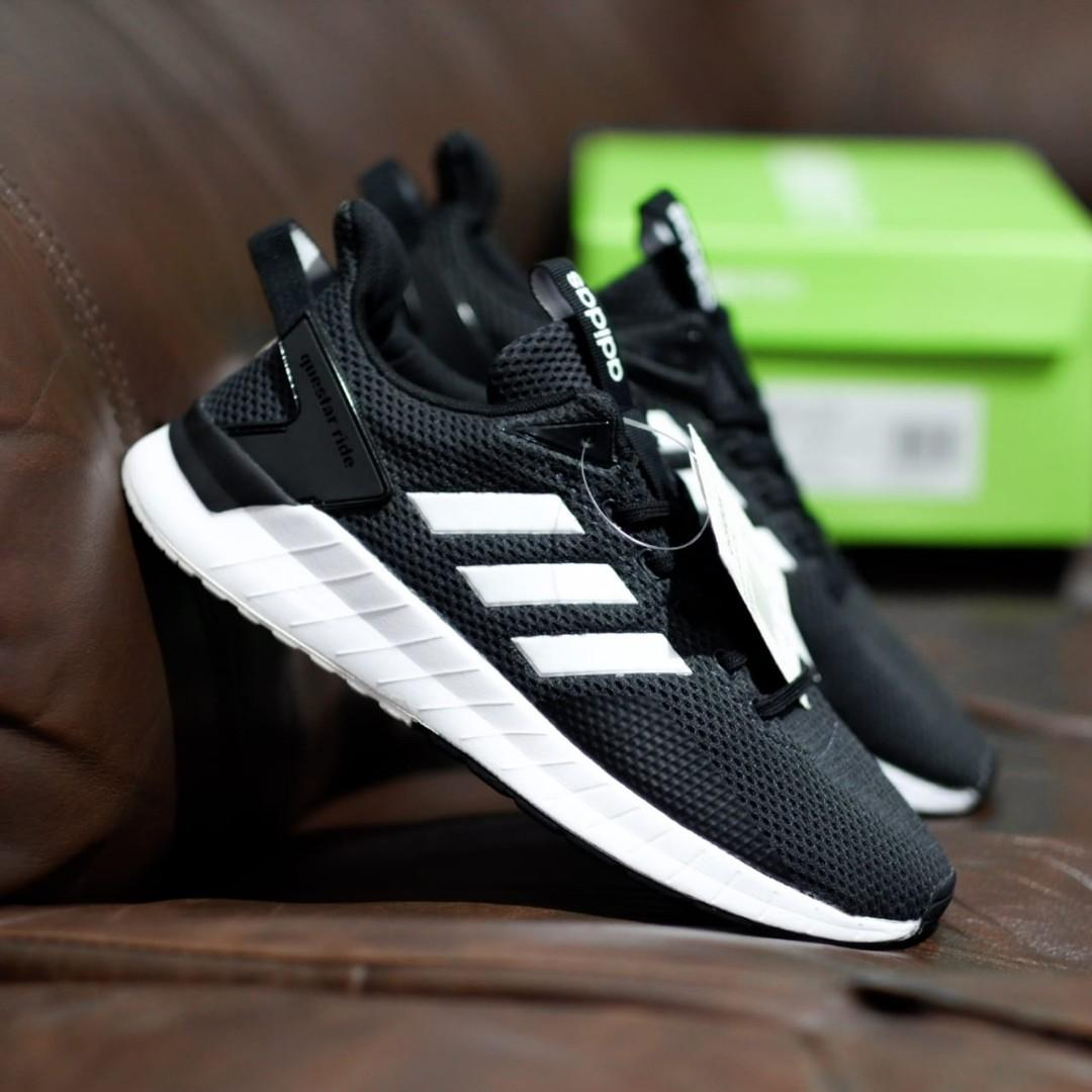 best service f21e7 f0dcc Adidas Questar Ride black white on Carousell