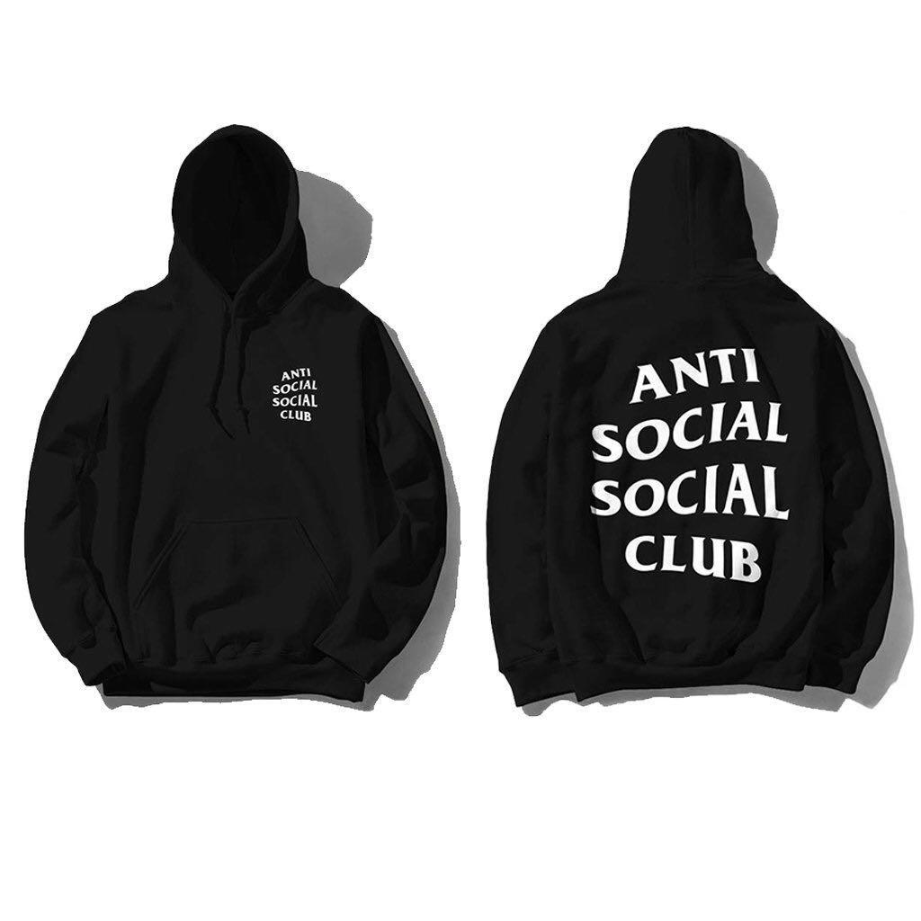 Anti Social Social Club Rainy Dayz Hoodie White Size S M L W//Receipt