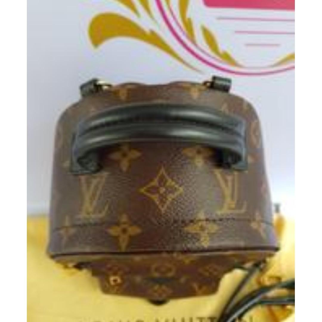 Authentic Louis Vuitton Palmspring Mini backpack