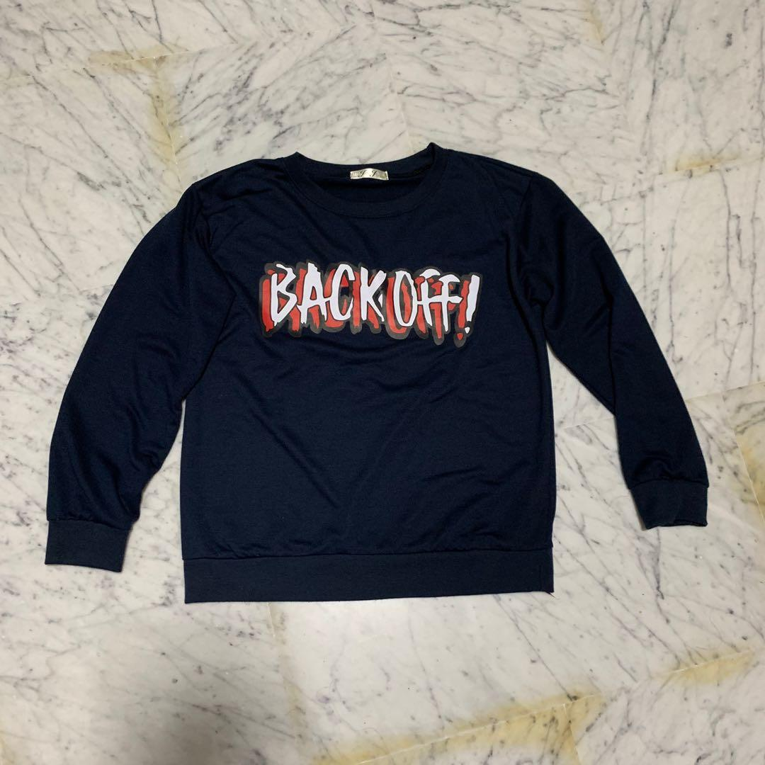 Back Off Pullover