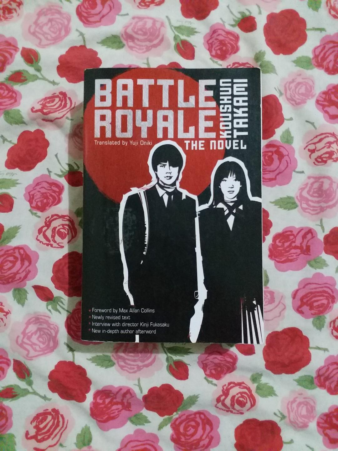 Battle Royale: The Novel by Koushun Takami on Carousell