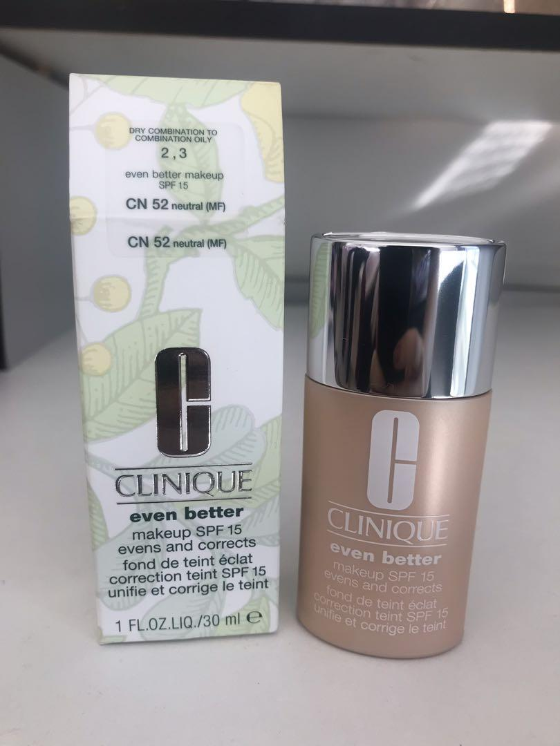 Brand New Clinique Even Better Foundation SPF15 + 3x FREE Gifts 🎁
