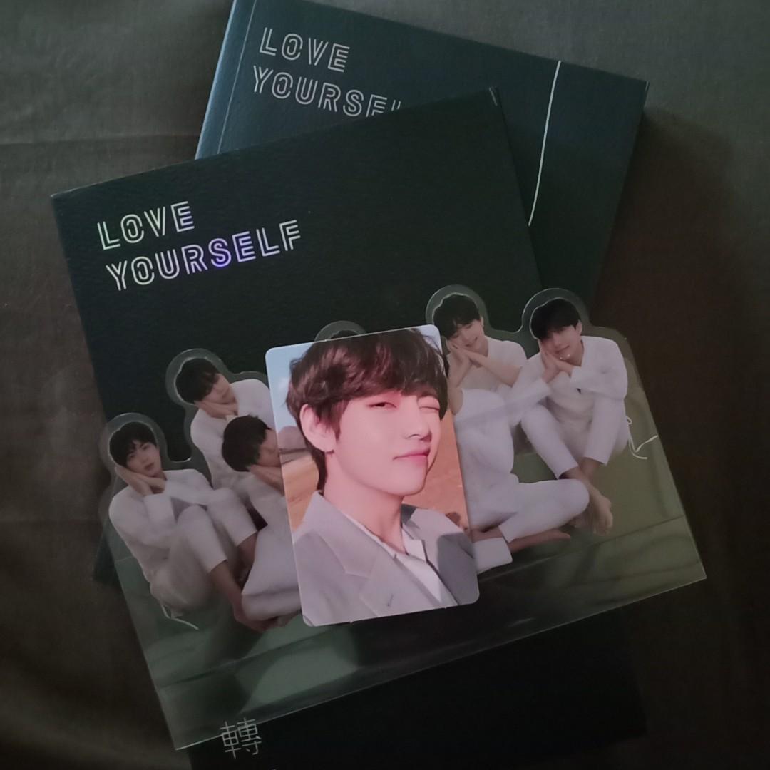 BTS ALBUM LOVE YOURSELF TEAR vers Y (pc taehyung V)