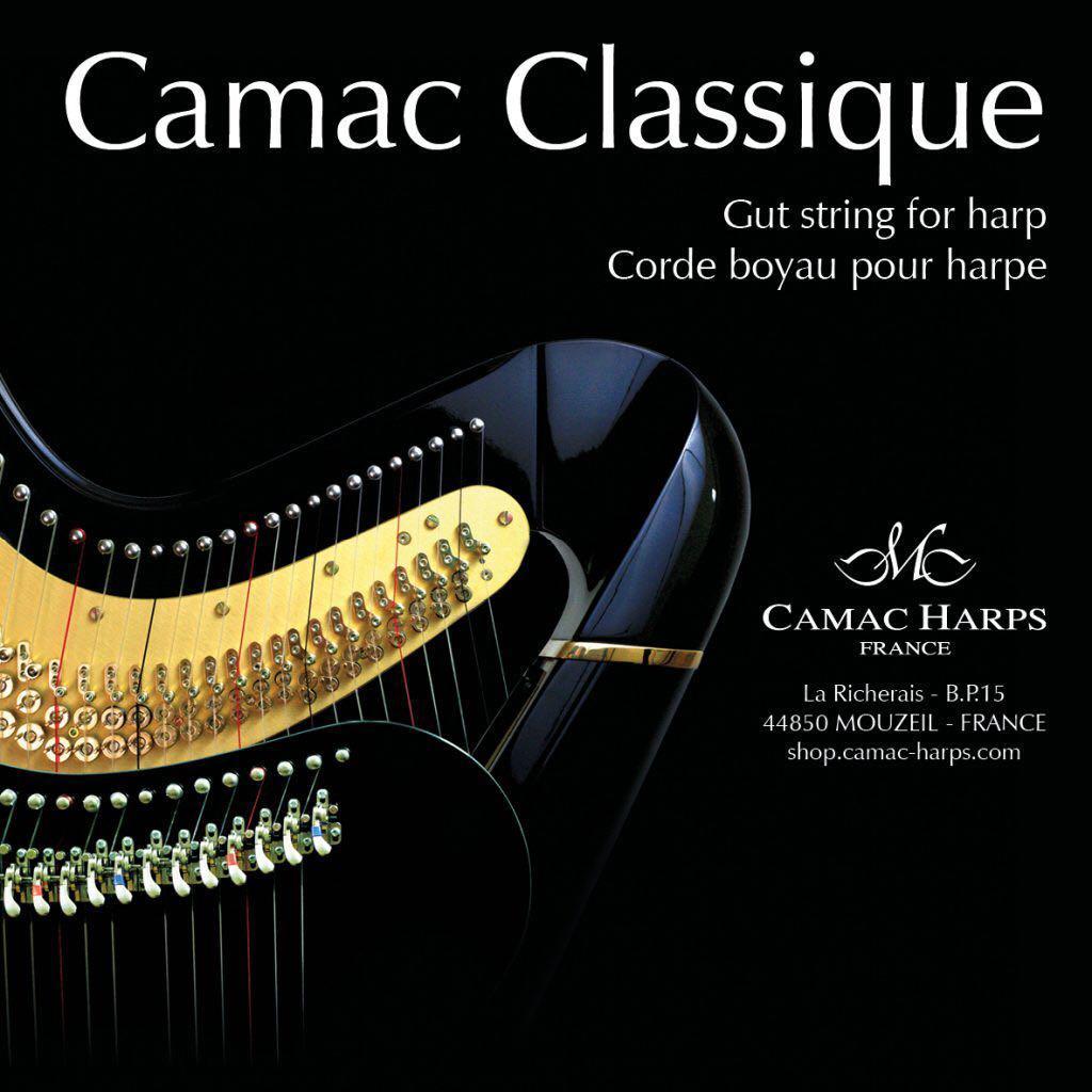 Camac harp string豎琴線