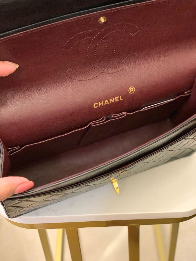 Chanel vintage reissue with classic logo flap