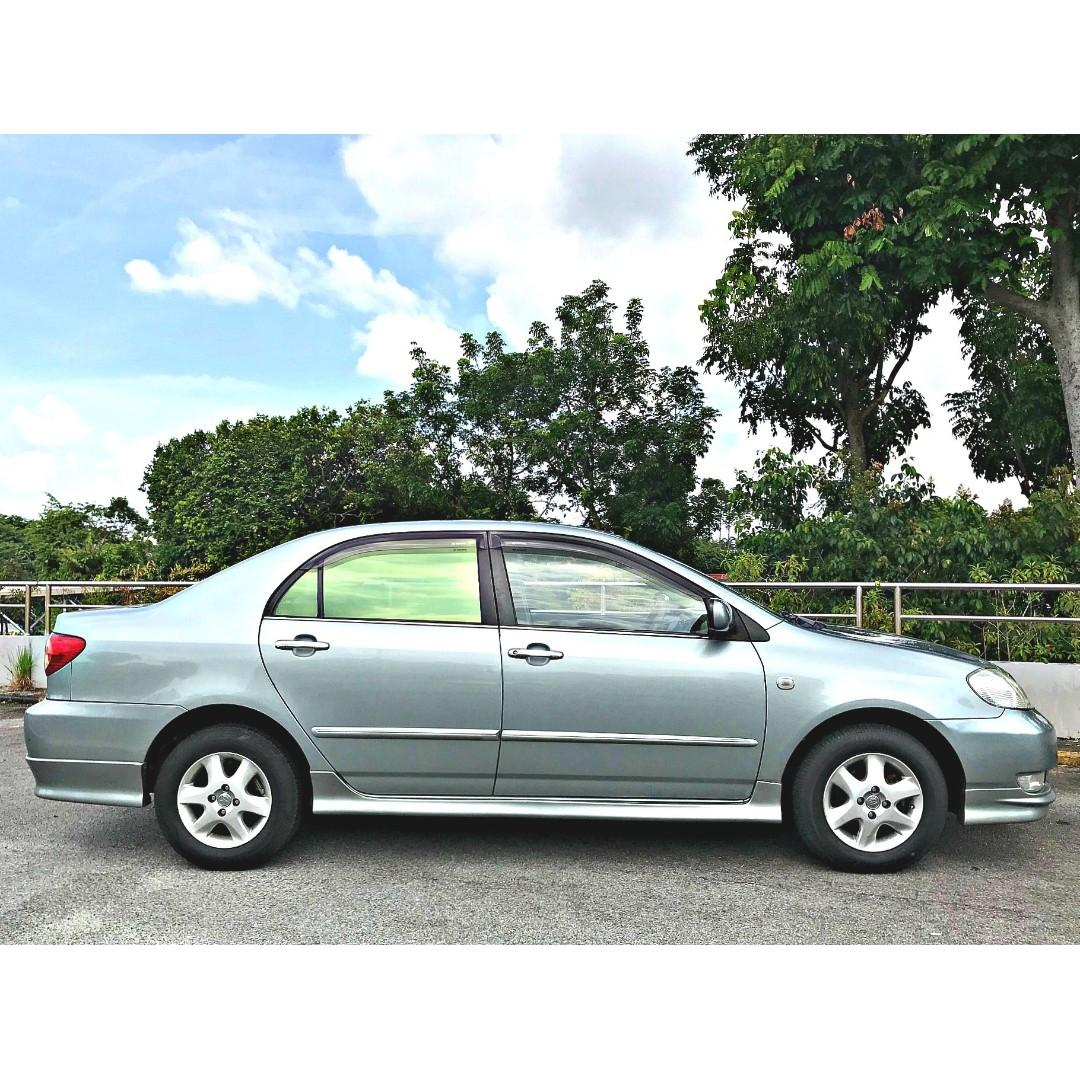 CHEAPEST $46 PER DAY SEDAN FOR PHV/LEASING [TOYOTA ALTIS 1.6A]
