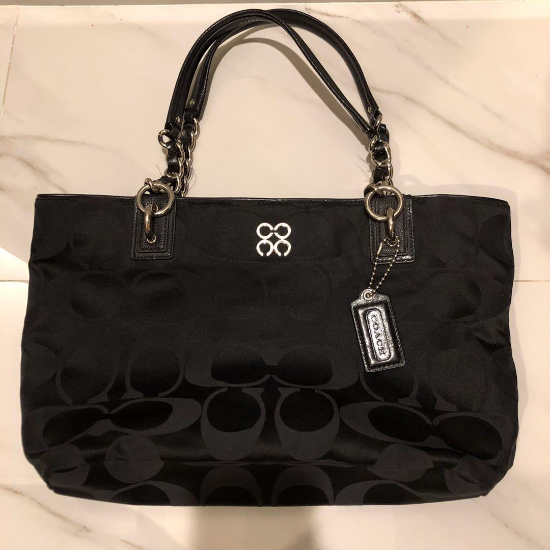 coach bag nylon (kode authentic bisa cek di google) with replacement DB