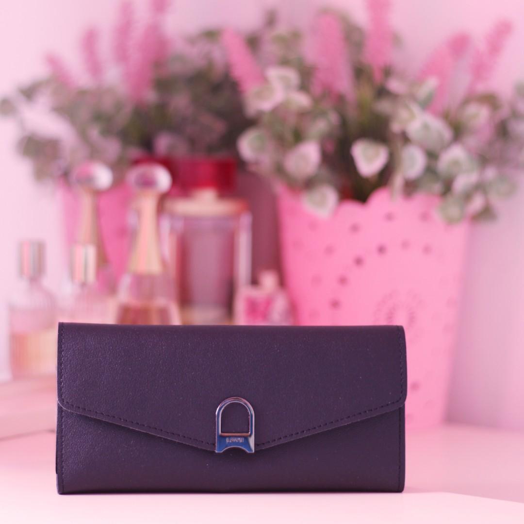 Dompet wanita Vintage Hitam